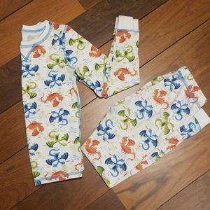 Cuddle duds boys thermal pants and top